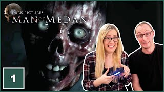 LET'S PLAY | Man of Medan (Movie Night Gameplay) Part 1 | We're Going to Get Them All Killed!