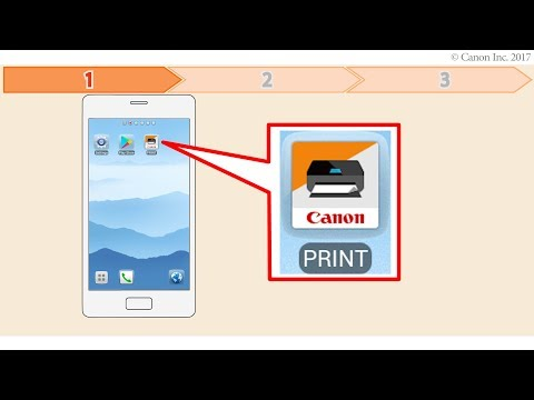 Enabling Printing From A Smartphone (Android) - 1/2 (G4010 Series)