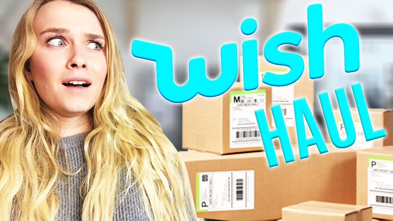 HUGE WISH UNBOXING HAUL! (IS THIS A JOKE?)