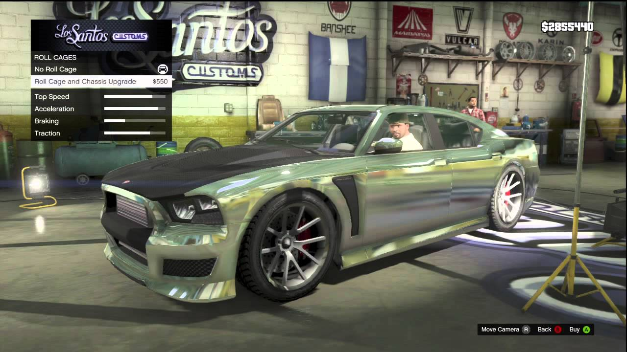 GTA 5 FRANKLINS CAR DODGE CHARGER
