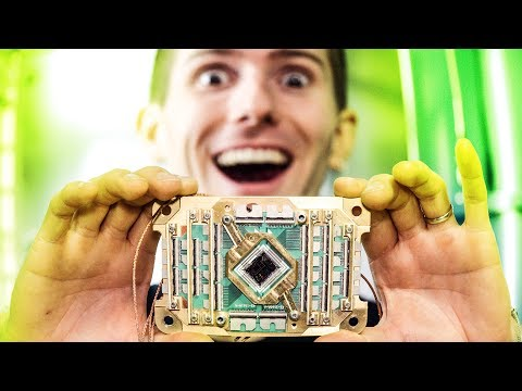 Thumbnail: UNBOXING A QUANTUM COMPUTER! – Holy $H!T Ep 19