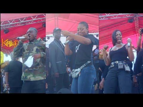 Zlatan Ibile shuts down Regina Daniel's Children's Day carnival, Tiwa Savage, Patoranking Pull crowd