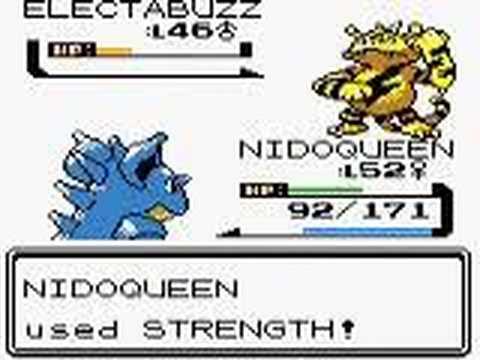 Pokemon Gold - Battle Vs. Leader Lt. Surge (Kanto) - YouTube
