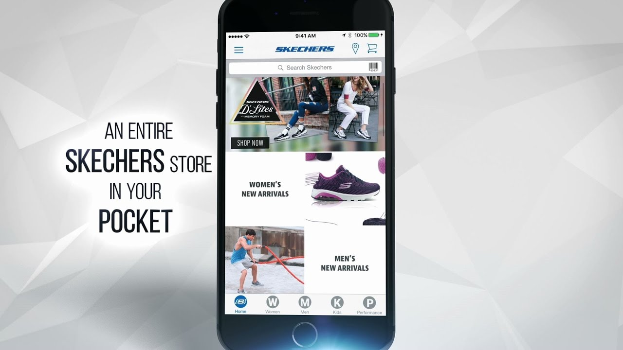 THE SKECHERS MOBILE APP IS HERE!