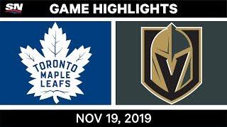 NHL Highlights   Maple Leafs vs. Golden Knights – Nov. 19, 2019
