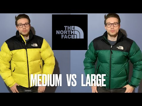 WATCH BEFORE YOU BUY! The North Face Retro 1996 Nuptse, Complete Size Guide (Medium Vs. Large)