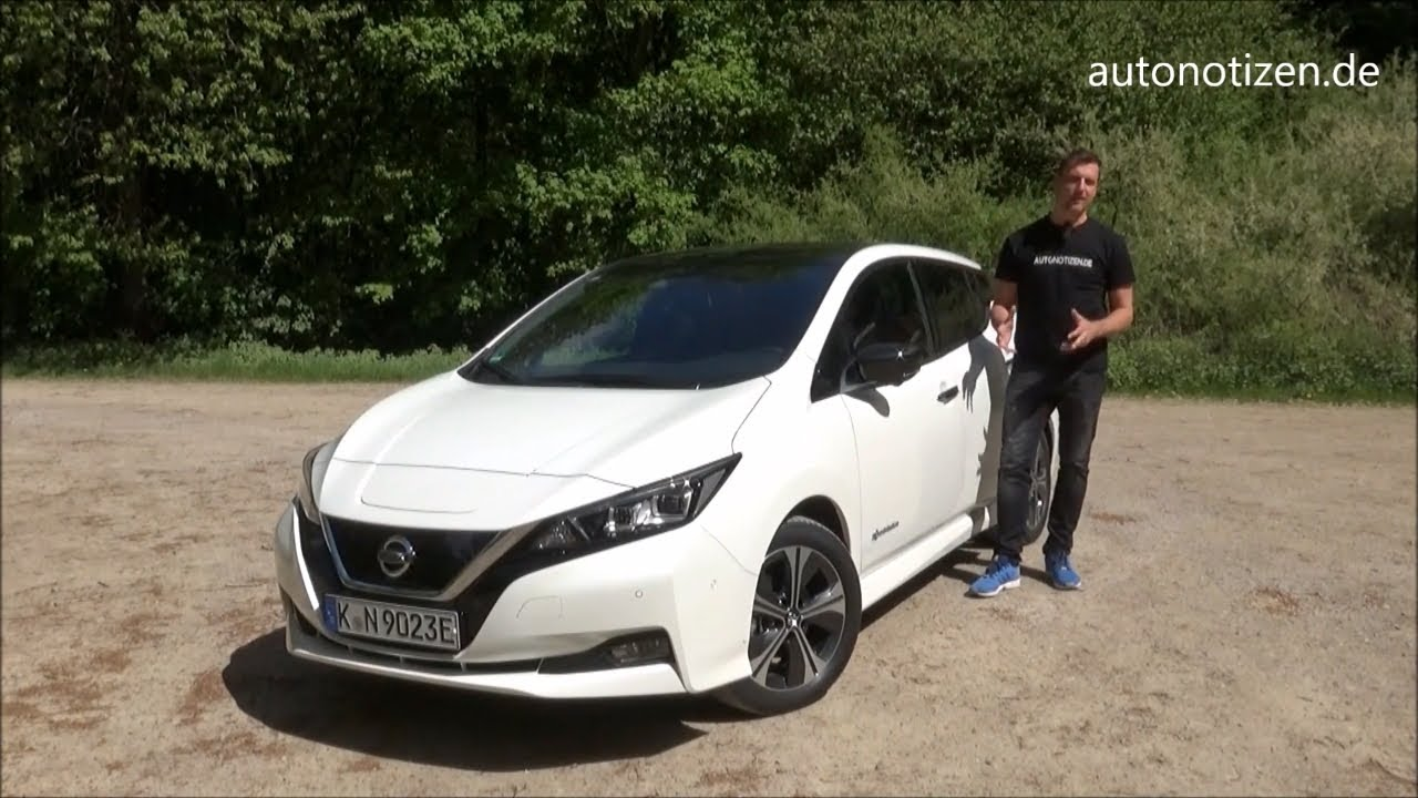 nissan leaf 2 2018 elektroauto 40 kwh fahrbericht testfahrt review youtube. Black Bedroom Furniture Sets. Home Design Ideas
