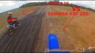 Duużo gleb/Pęknięty plastik/Psy myśliwskie-Podjazdy-Kxd 125 vs. Yzf-Funny Moments Enduro Stromiec :D