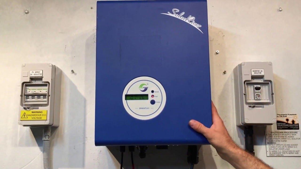 3.0 kW Solar PV inverter Samil Power Solar River 3000TL
