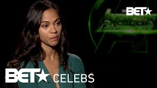 Zoey Saldana & 'Avengers: Infinity War' Cast On How Black Panther Success Will Change Hollywood