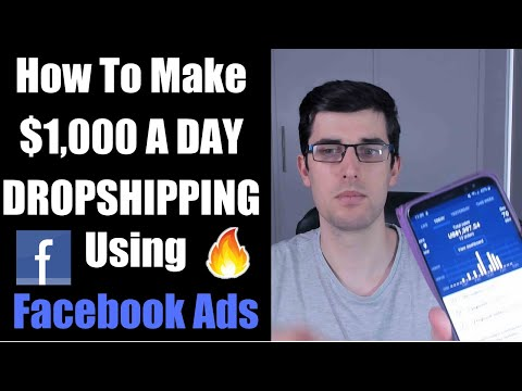 [Step-by-Step] How To Make $1k A Day Using Facebook Ads Shopify Dropshipping | Live Strategy 2019 thumbnail
