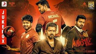 Whistle - Jukebox Telugu | Thalapathy Vijay, Nayanthara | A.R Rahman | Atlee | AGS