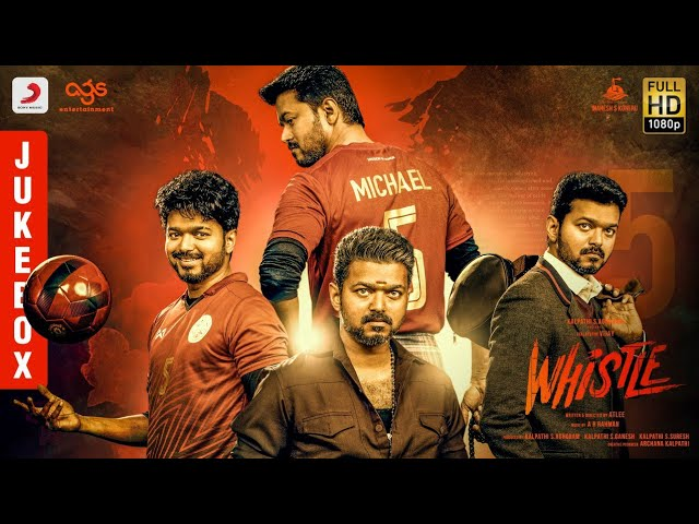 Whistle - Jukebox Telugu | Thalapathy Vijay, Nayanthara | A.R Rahman | Atlee | AGS #1