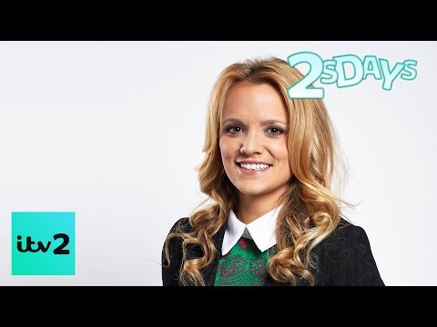 Laura Aikman  Pole Dancing For Madonna  2 Faced  ITV2