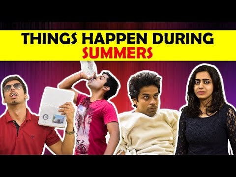 Things Happen During Summers | The Half...