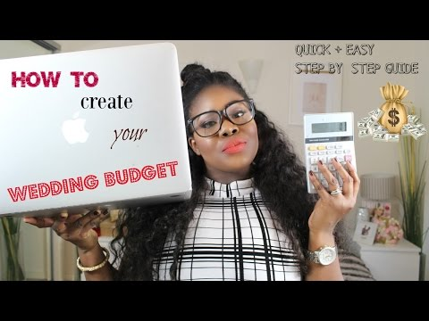 Creating your Wedding Budget: Quick and Easy Guide + Tips to Save you Money!!