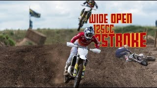 2stroke Motocross Ripping - Ends With Huge CRASH !!!!!!