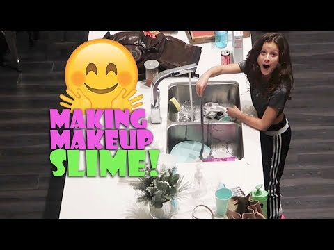 Making Makeup Slime 🤗 (WK 366.7) | Bratayley