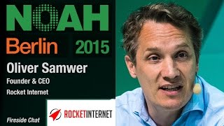 Interview with oliver samwer, founder & ceo of rocket internet at the noah 2015 conference in berlin.now our 7th year, we are delighted to be hosting two ...