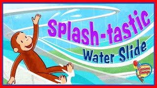 ♡ Curious George /Jorge el Curioso - Splash Tastic Water Slide Educational Game For Kids thumbnail