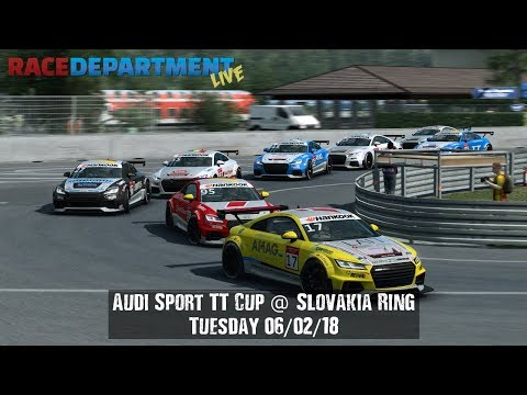 Audi Sport TT Cup @ Slovakia Ring - Tuesday 06/02/18