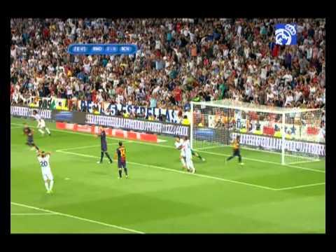 GOLES: Real Madrid 2-1 FC Barcelona: 2012 Supercopa de España