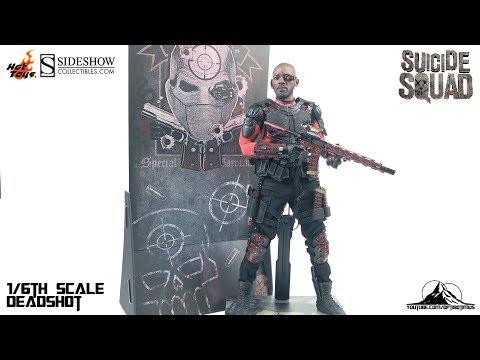 Optibotimus Reviews: Hot Toys Suicide Squad DEADSHOT