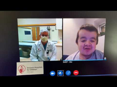 Alec Talks About Shriners Hospitals Fast Track Video Visits