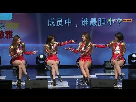 Girl's Day Tencent Kpop Live Full 걸스데이 텐센트 케이팝 라이브 소진 유라 민아 혜리 151029 고양 아람누리 Sojin Yura Minah Hyeri