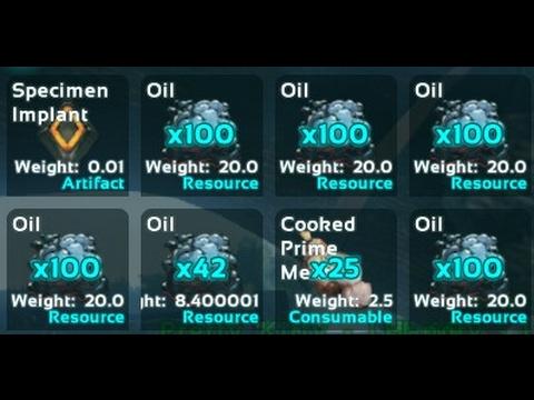 Oil - Official ARK: Survival Evolved Wiki