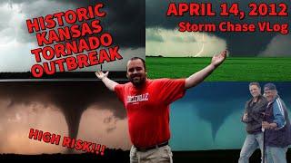 High Risk Tornado Outbreak in Kansas - Storm Chasing Video Log