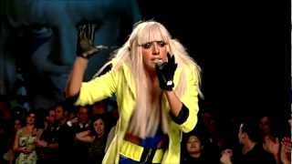 Lady Gaga - Beautiful Dirty Rich, Poker Face & Just Dance Fashion At The Park 2008 live
