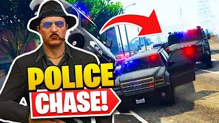 THE MOST INSANE POLICE CHASE EVER! - GTA Roleplay