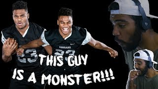 Zapętlaj #1 Defensive End In 2018 Is An Opposing Team's Nightmare!!!- Micah Parsons Highlights [Reaction] | Sharpe Life