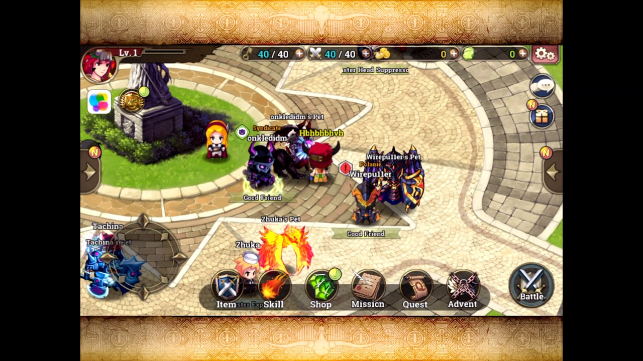 Zenonia S: Rifts In Time - iOS Hack/Mod by iOSGods com