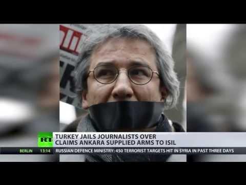 Media Crackdown: Turkish journos jailed for 'treason' over gun, oil smuggling claims
