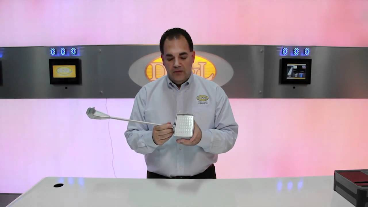 Display Supply & Lighting 8822- LED Armlight - YouTube