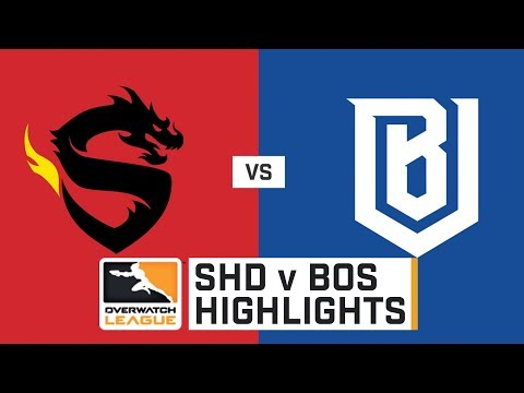 HIGHLIGHTS Shanghai Dragons vs. Boston Uprising | Stage 1 | Week 2 | Day 2 | Overwatch League