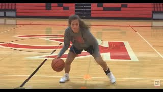 Watch mad dribbling skills by Division I basketball prospect Kenzie Bowers