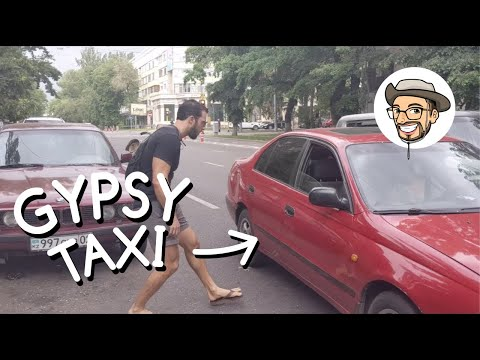 _In Kazakhstan, All Cars Are Taxi's (Extra Cheap + Convenien