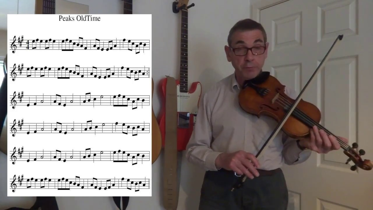 Peak S Old Time Fiddle A Lesson In Playing An Old Time Fiddle Tune Youtube