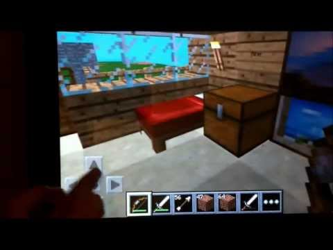 Minecraft Ipad Tutorial My House Tour And More Cool Stuff Survival Mode Ep 1