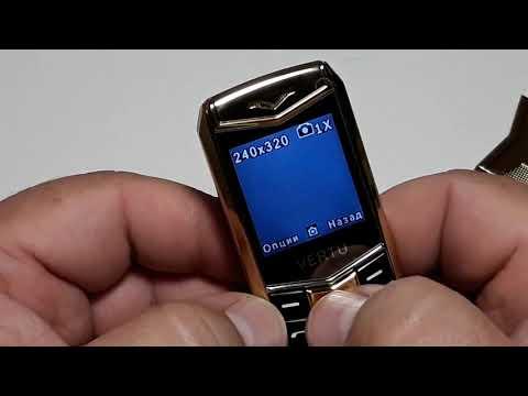 China phone VERTU A88 on 2SIM люксовый телефон