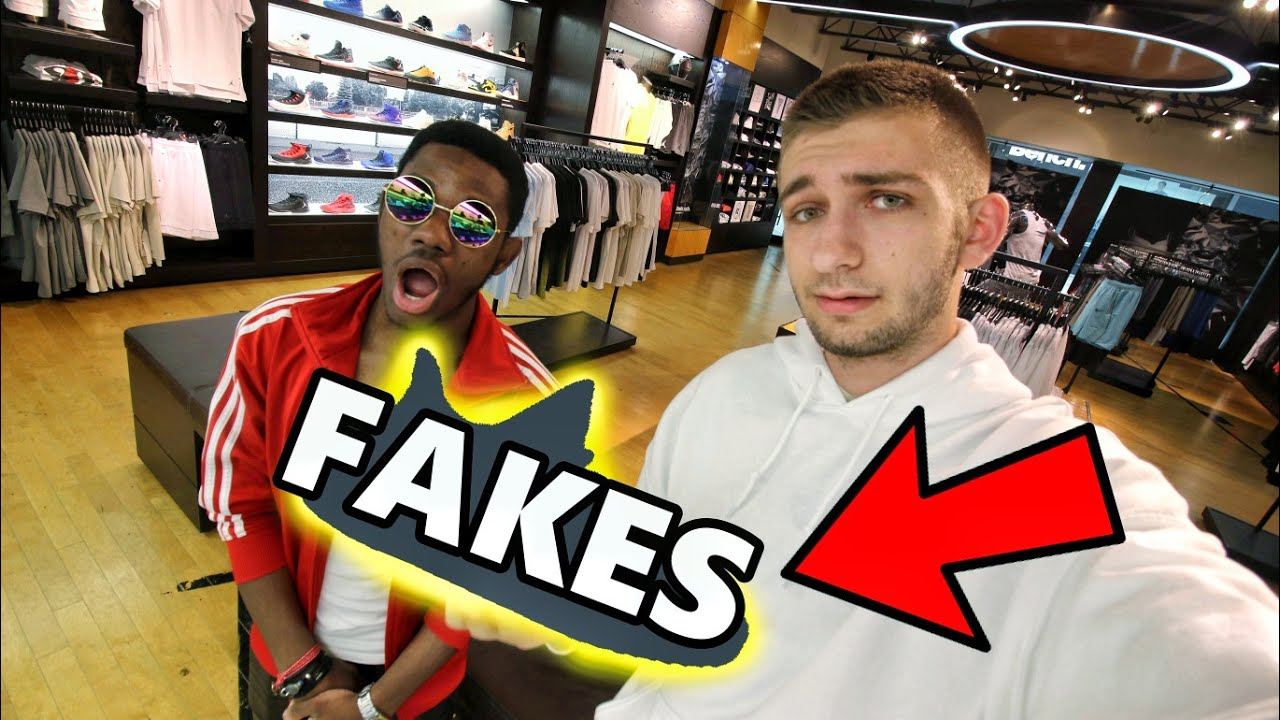3987adada3e14 FAMOUS SNEAKER STORE CAUGHT SELLING FAKES!! EXPOSED! - YouTube
