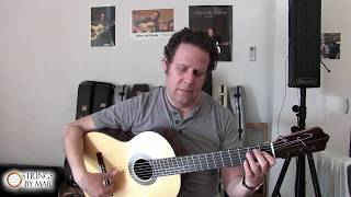 Lesson #3 The Flamenco Thumb with Adam del Monte | Strings By Mail Lesson Series