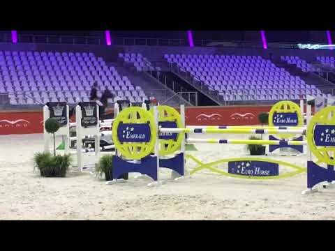 CSI2* Opglabbeek -  Kevin Staut & S&L Through the looking glass - 1.30m - 2017