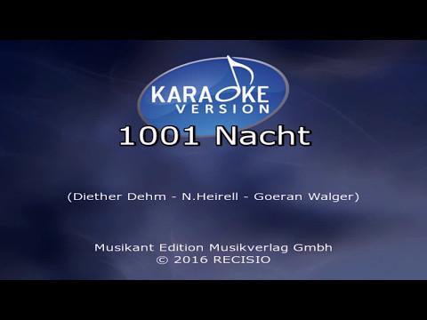 1001 Nacht -- Klaus Lage Karaoke