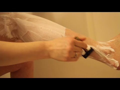 How to shave your legs with a Safety Razor