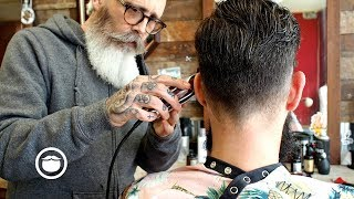 Master Barber Transforms a Traveler from Portugal's Style