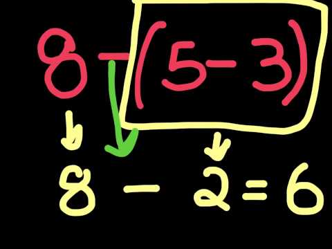 3rd Grade  Using Parentheses in an equation